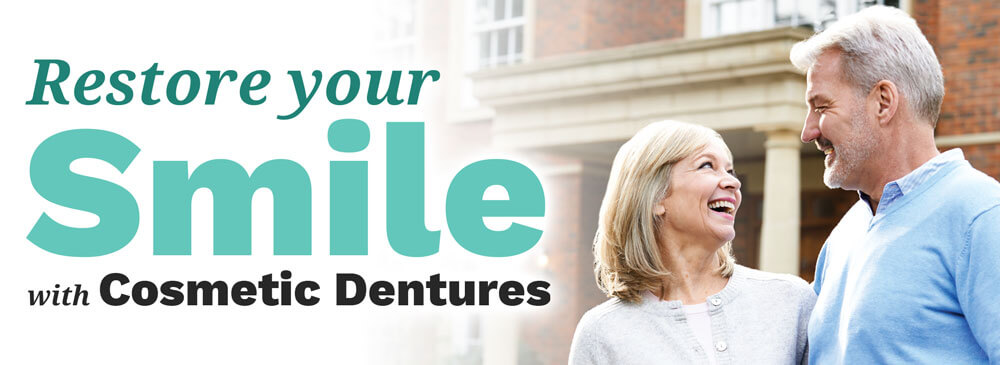Restore Your Smile with Cosmetic Dentures